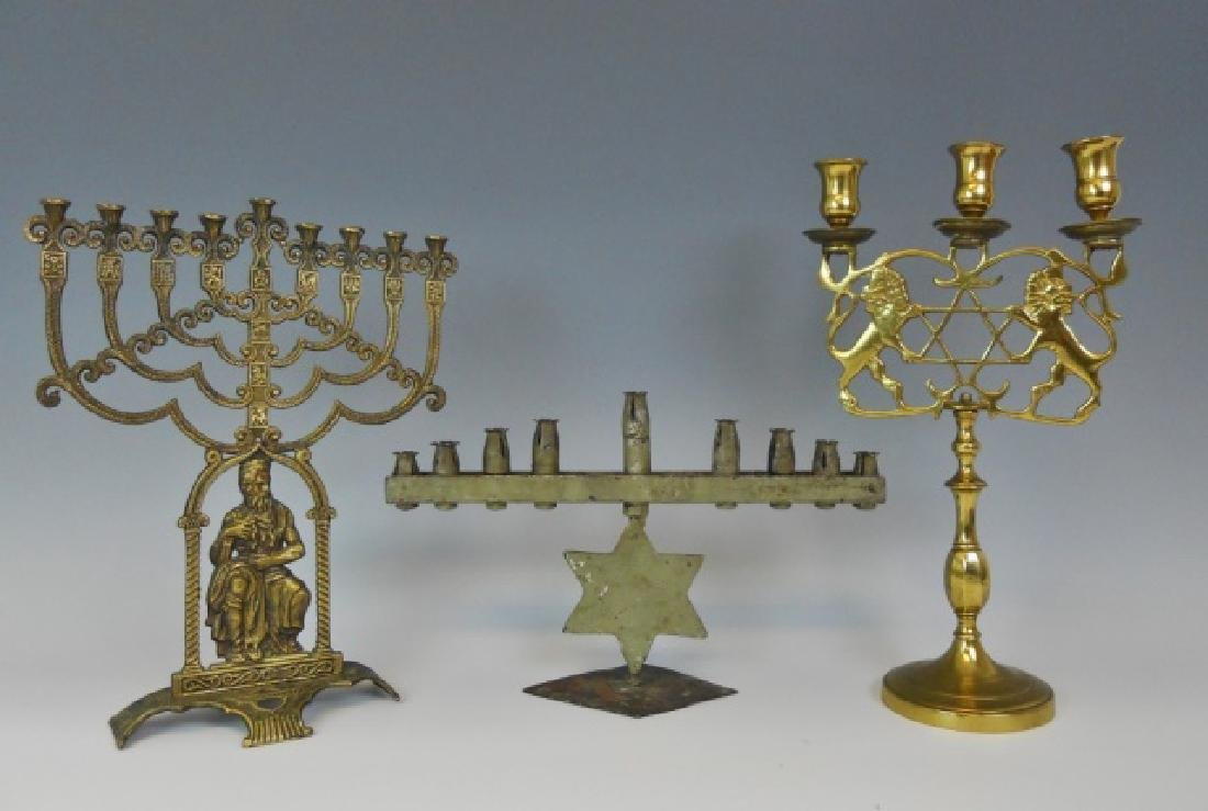 Late 19th C - 20th C Candelabrum (3pc)