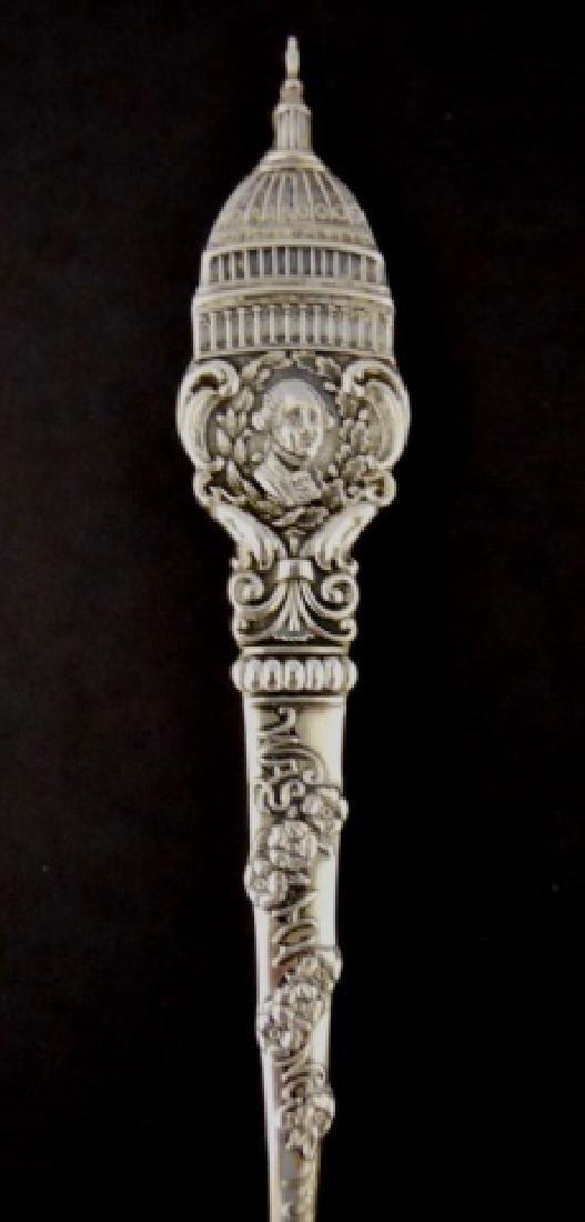 19th-20th C. Sterling Souvenir Spoons (27pc) - 3