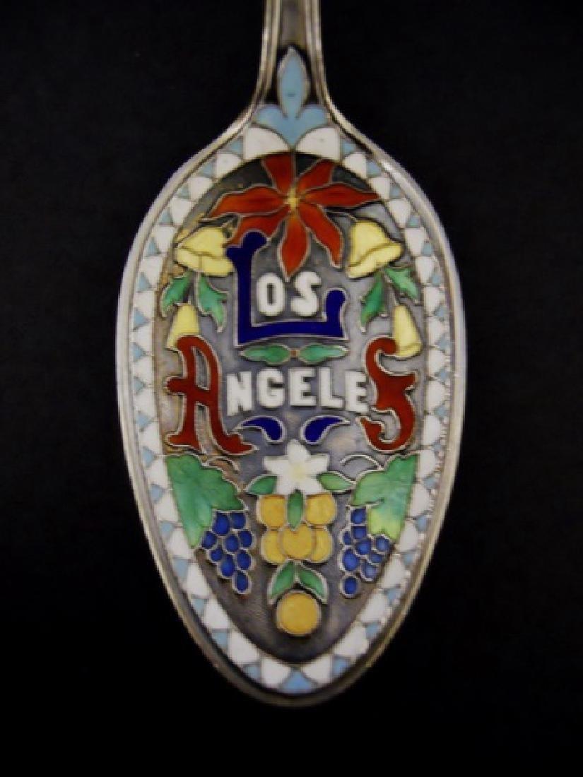 19th-20th C. Sterling Souvenir Spoons (27pc) - 7