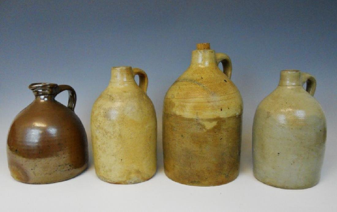 Collection of 19th C. Ceramic Jugs (4pc)