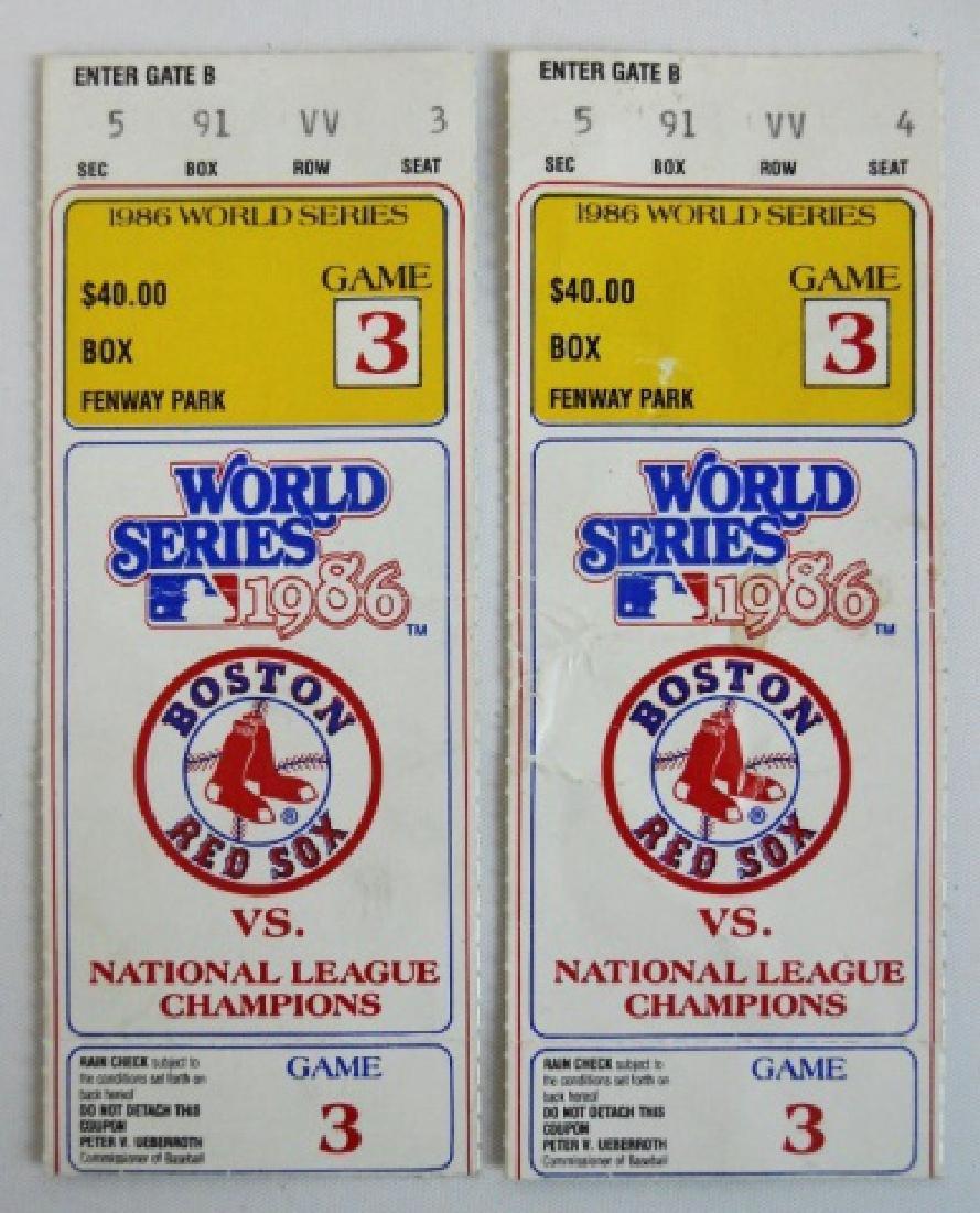 Baseball World Series Tickets, Press Pins (6pc) - 2