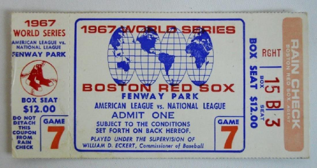 Baseball World Series Tickets, Press Pins (6pc) - 4