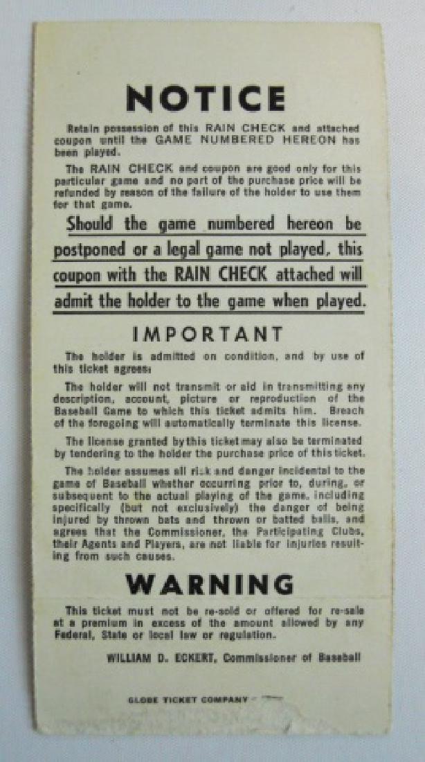 Baseball World Series Tickets, Press Pins (6pc) - 5