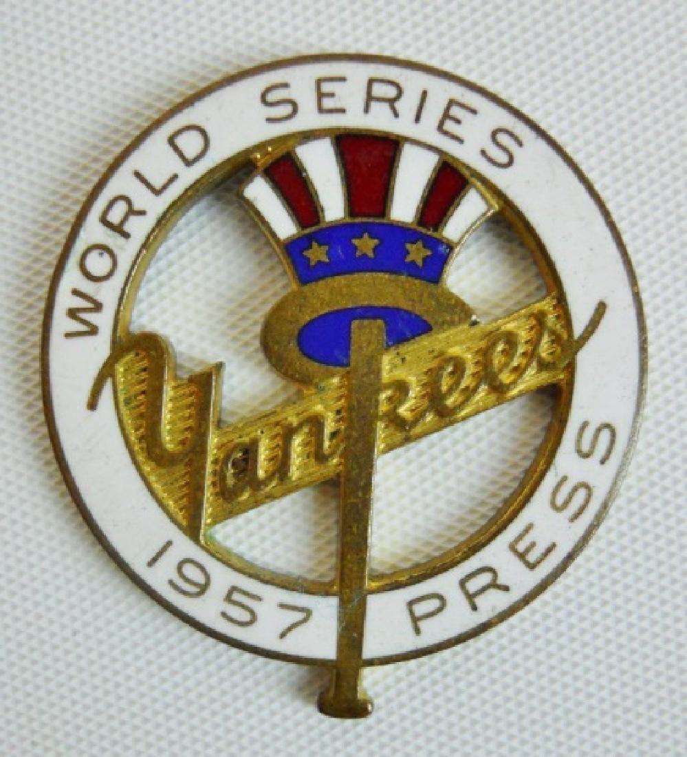 Baseball World Series Tickets, Press Pins (6pc) - 6