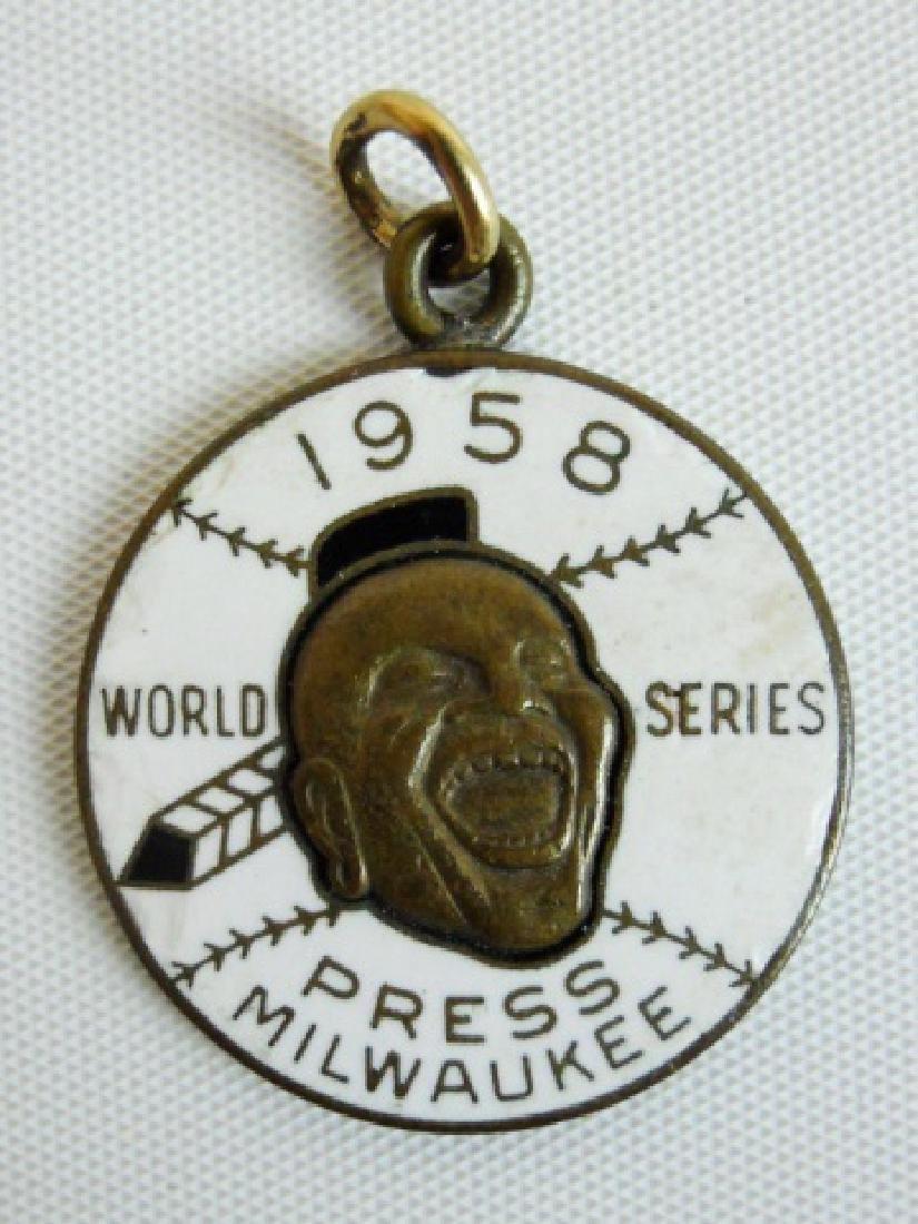 Baseball World Series Tickets, Press Pins (6pc) - 8