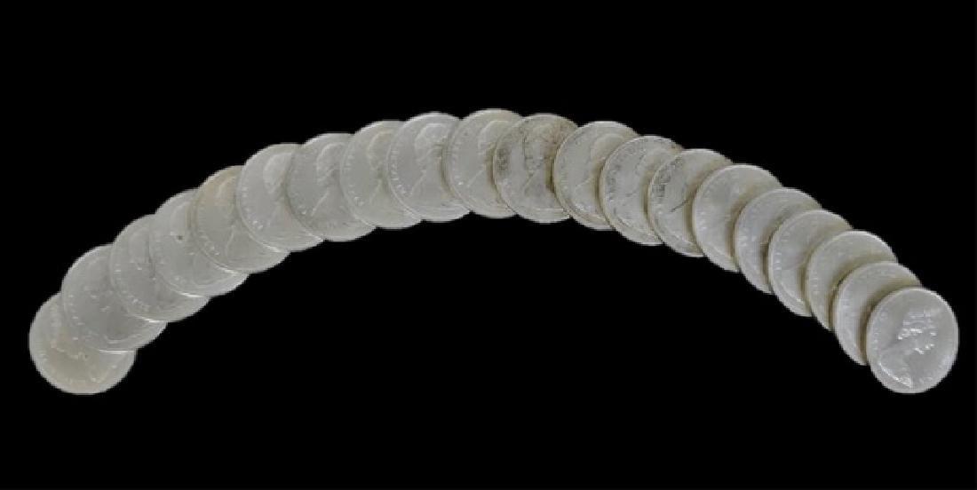 Roll of 1965 Canada Silver Dollars, BU, (20pc) - 5