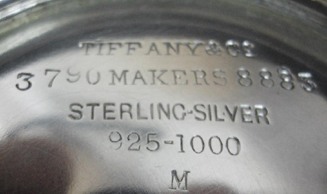 Sterling Creamer and Sugar, TIFFANY & Co, (2pc) - 4