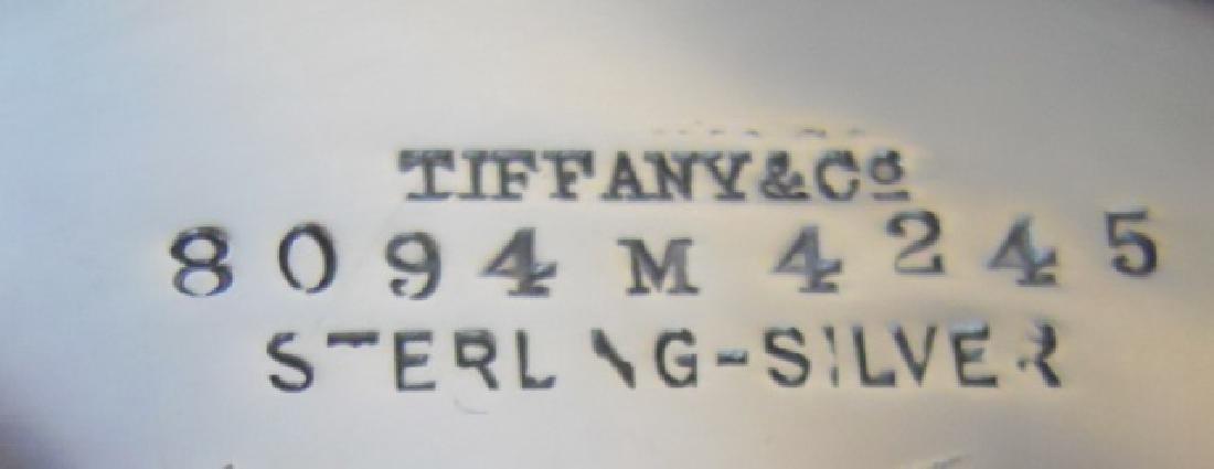 Sterling Creamer and Sugar, TIFFANY & Co, (2pc) - 7