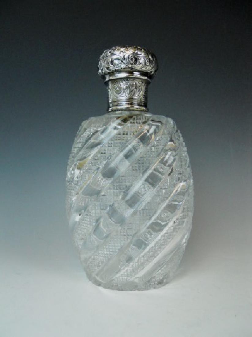 Victorian Decanter, Cordials, E. Barton 1887 (7pc) - 2