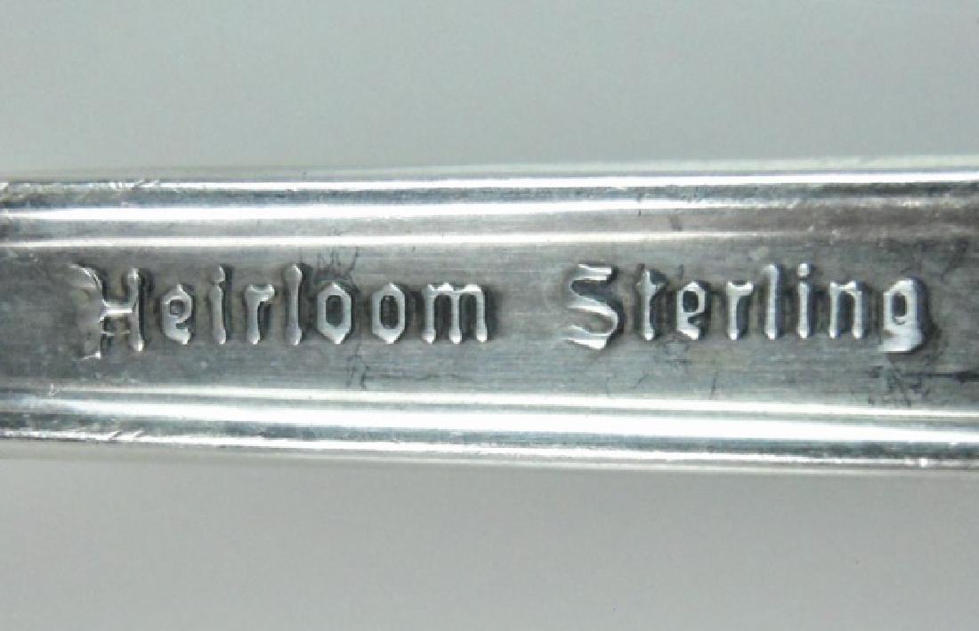 Sterling Flatware Set, Heirloom Damask Rose (90pc) - 5
