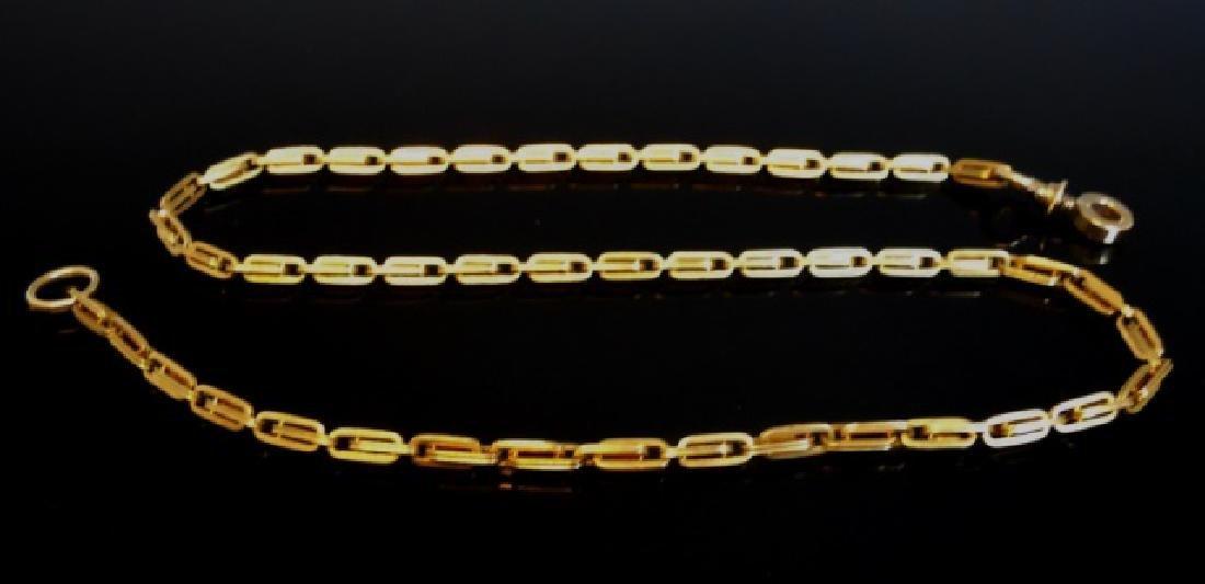 19th C. 14K Gold Watch Chain