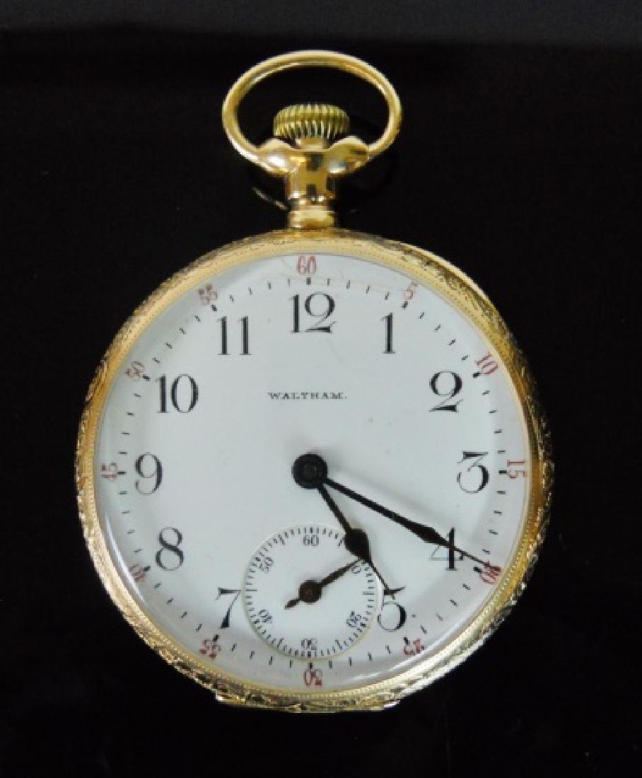 14K Gold Pocket Watch, Waltham, c. 1903