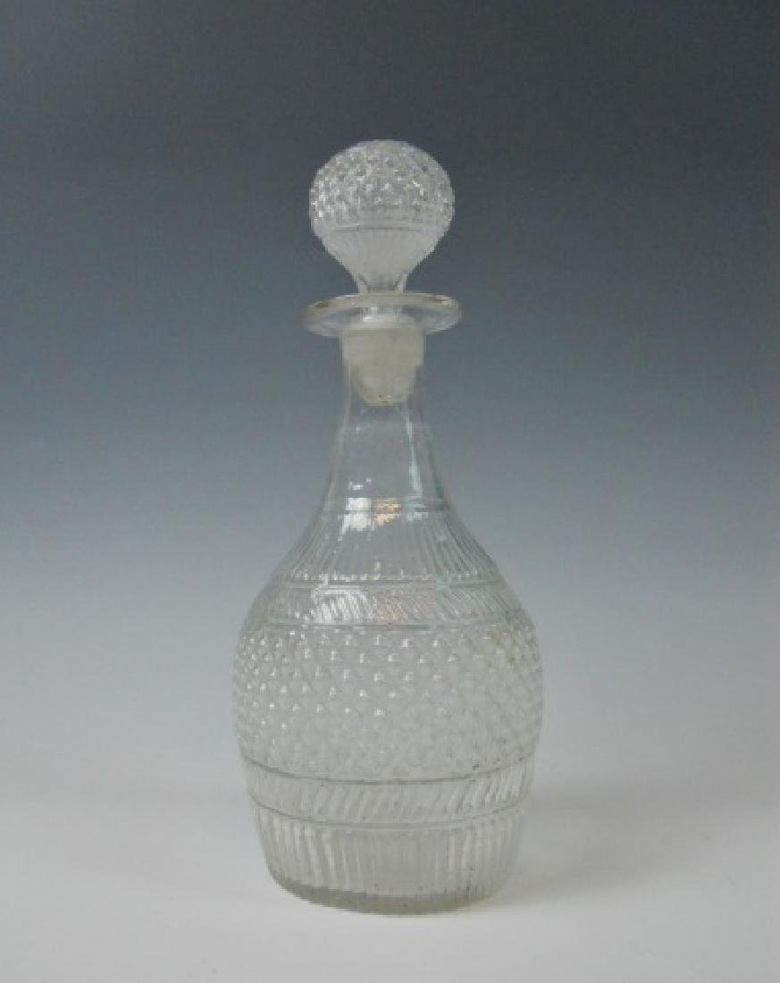19th C. Blown Glass Decanters, (2pc) - 2