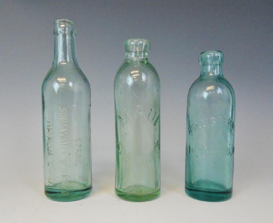 Collection, Antique Hawaiian Soda Bottles, (3pc)