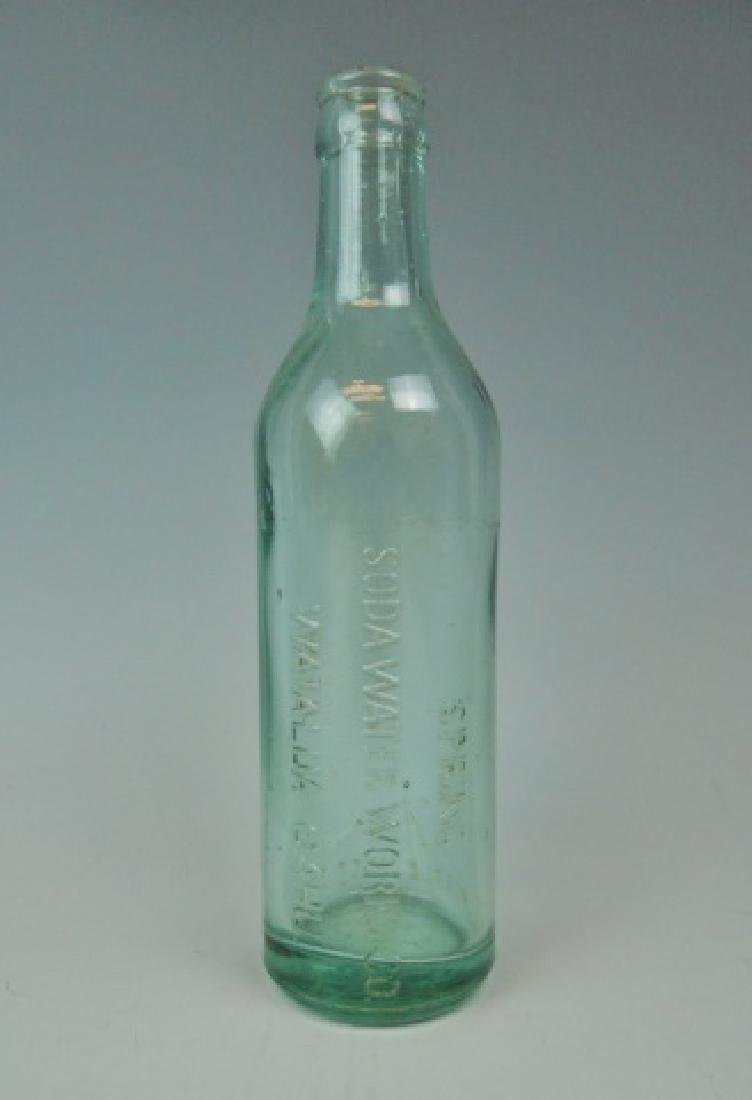 Collection, Antique Hawaiian Soda Bottles, (3pc) - 4