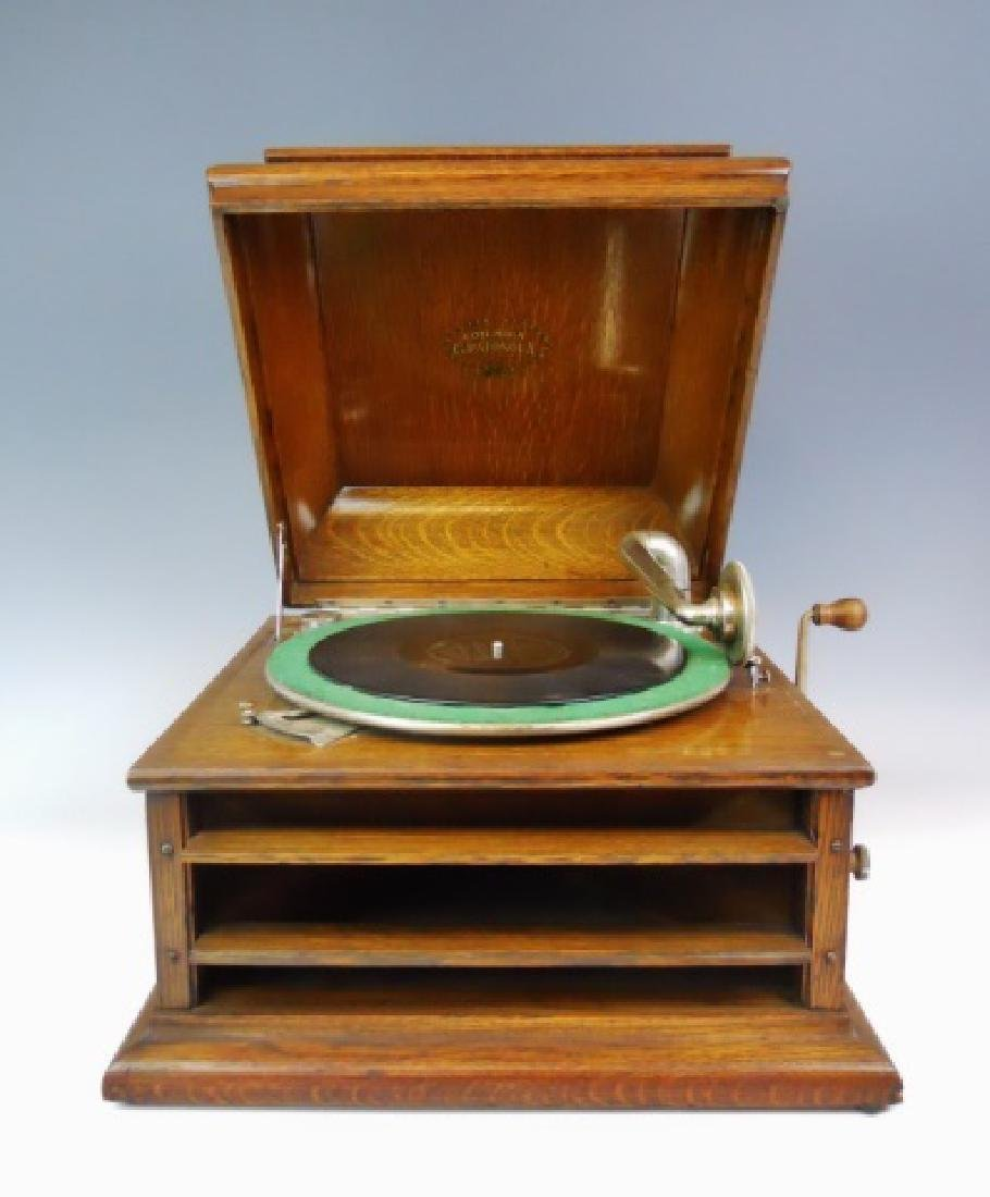 Early 20th C. Music Player, Columbia Grafonola