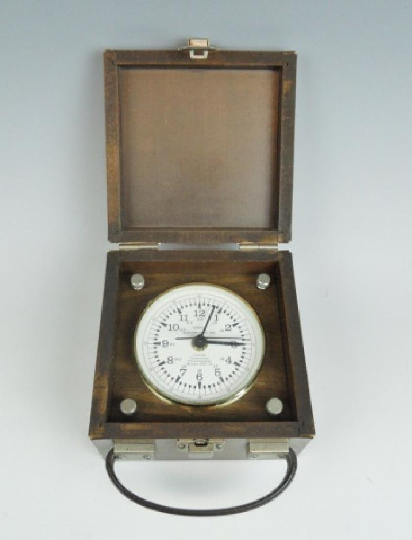 Cased Ship's Chronometer, Ensign Electronics