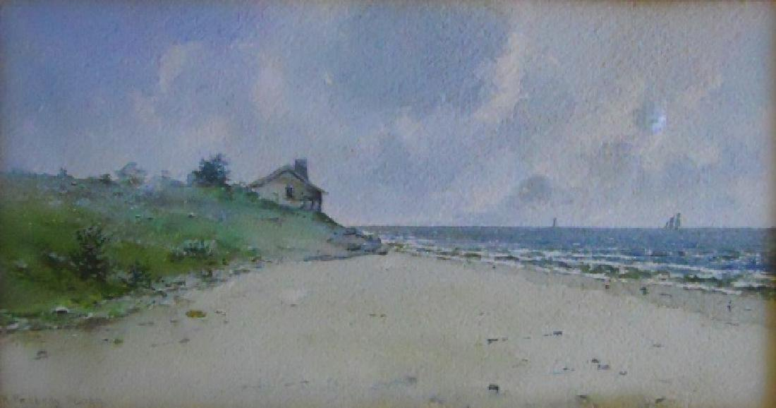 Watercolor on Paper, H. Peabody Flagg, (1859-1937)