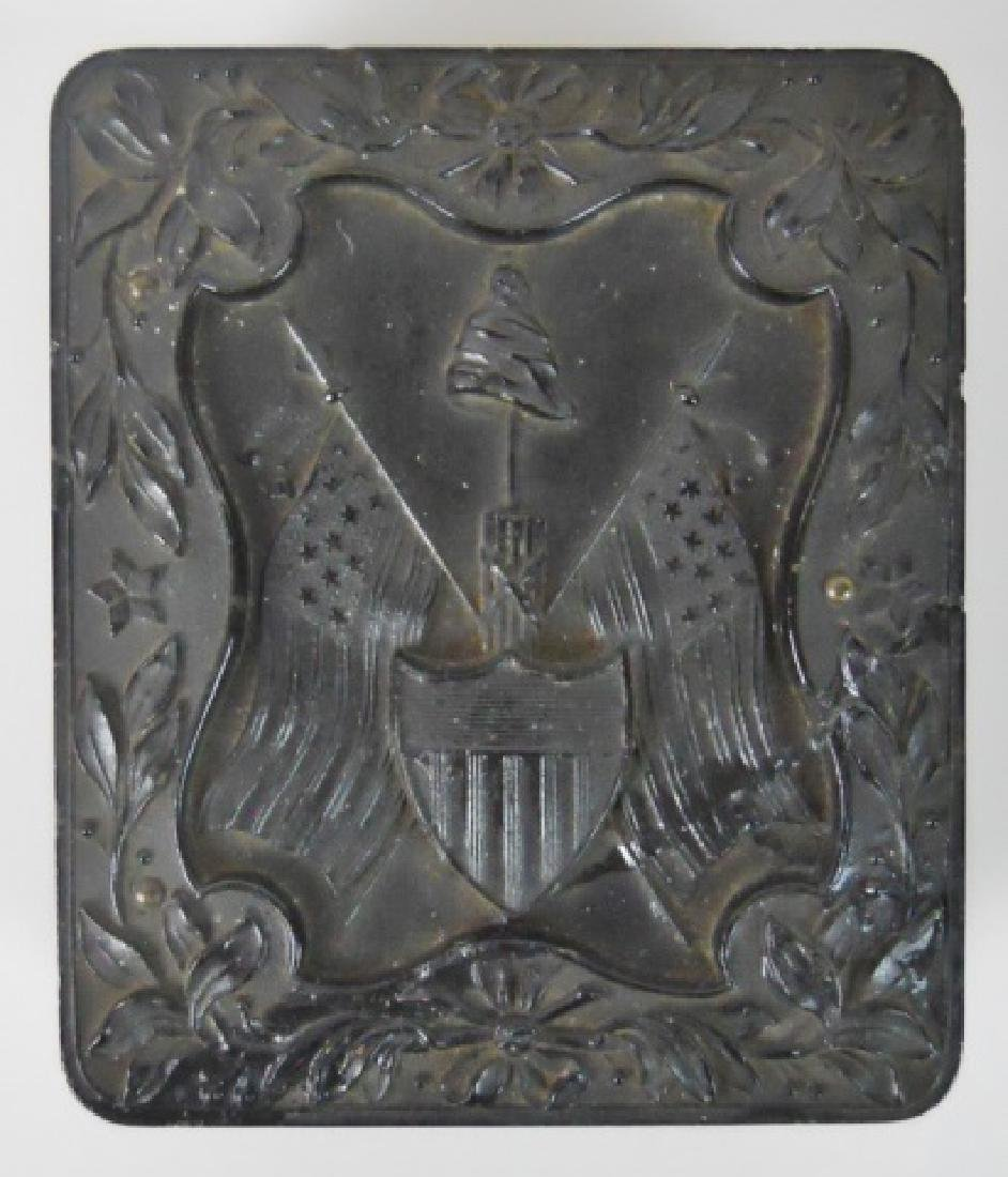 19thC. Gutta Percha Cases, Ambrotype,Tintype (3pc) - 2