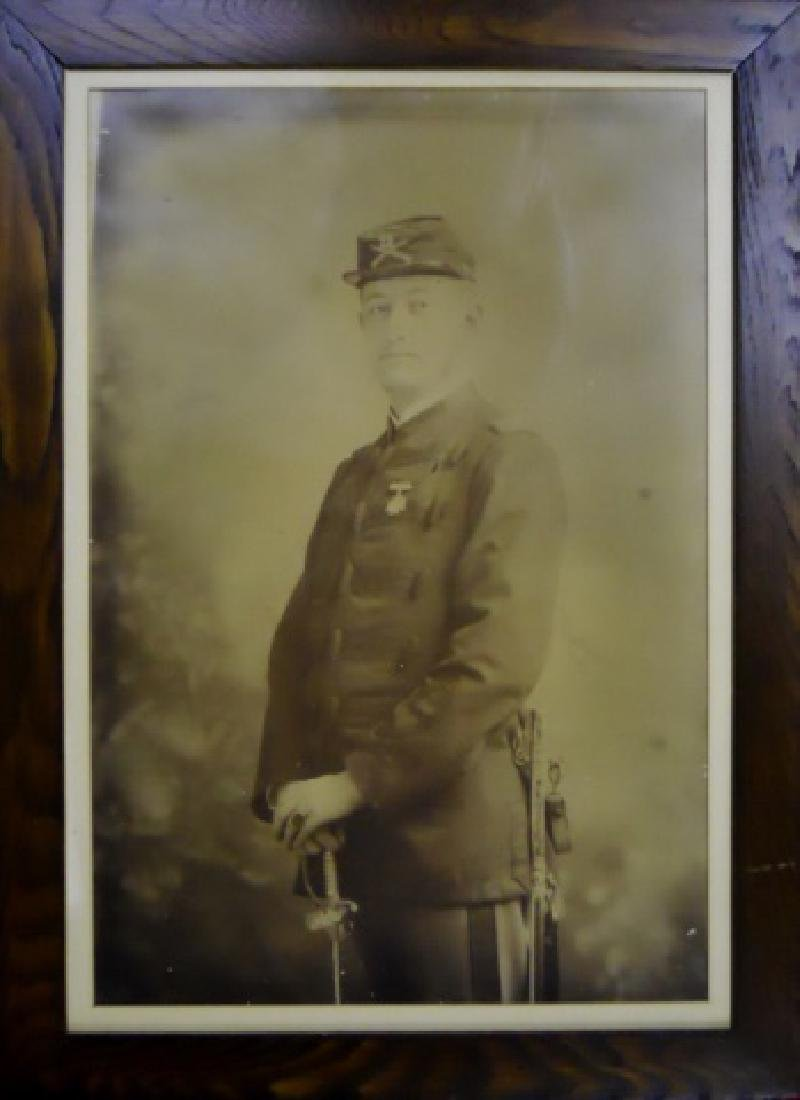 19th C. US Army Officer Portrait, 22nd Infantry