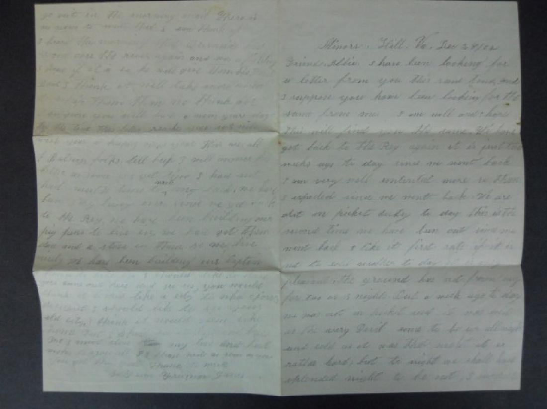 Civil War Correspondence, 1864 City Point, (7pc) - 2