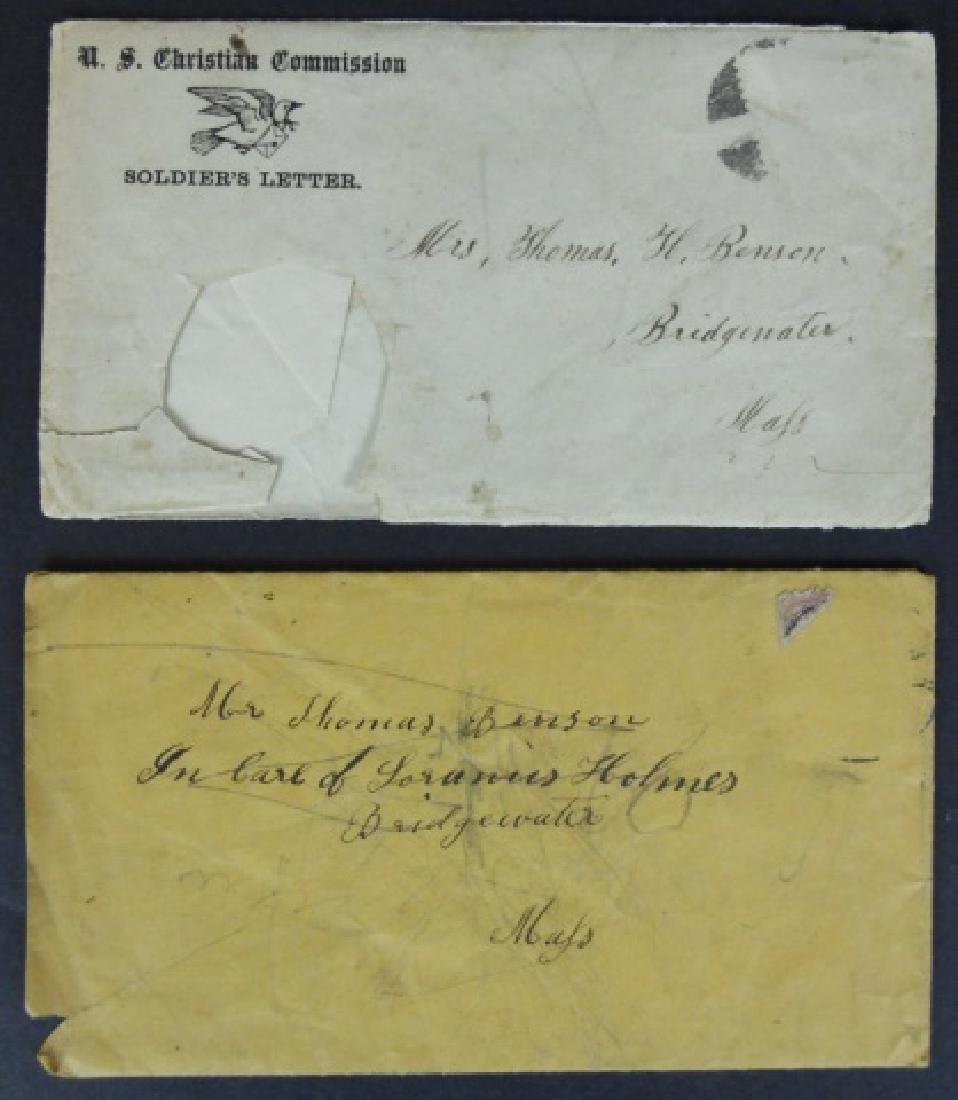 Civil War Correspondence, 1864 City Point, (7pc) - 8