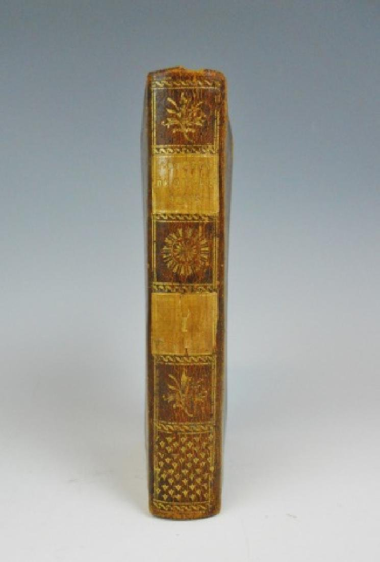 "Antiquarian Book ""Lettres"", Voltaire, 1805, Paris - 5"