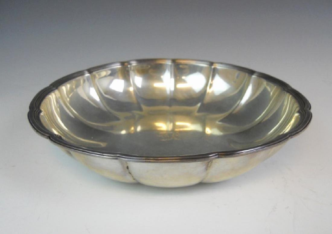 Large Fluted Sterling Silver Bowl, TIFFANY & Co