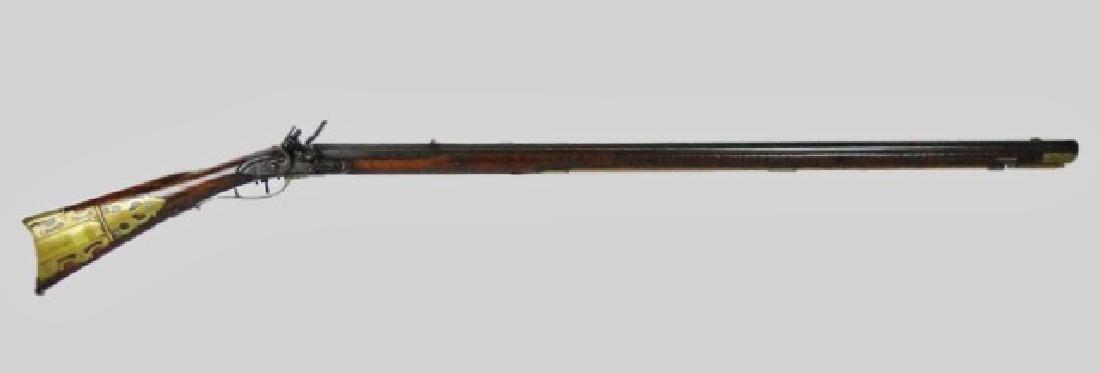 C. 1810 Kentucky Rifle, J. Sell, Littlestow, PA