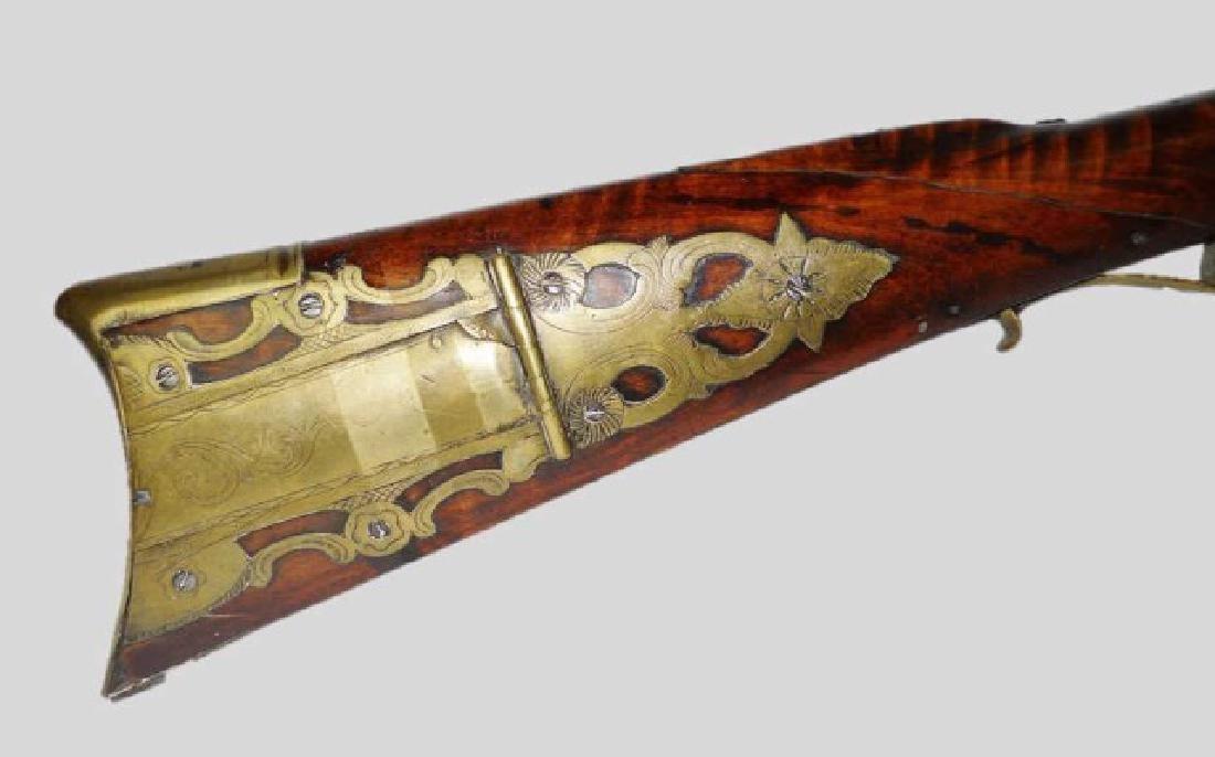 C. 1810 Kentucky Rifle, J. Sell, Littlestow, PA - 2