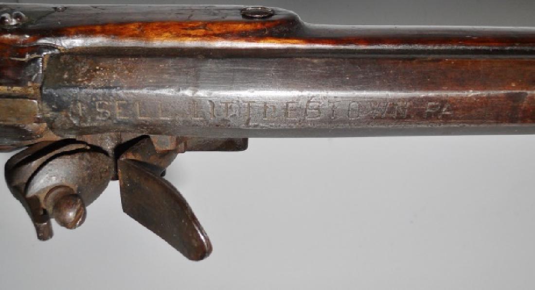 C. 1810 Kentucky Rifle, J. Sell, Littlestow, PA - 6