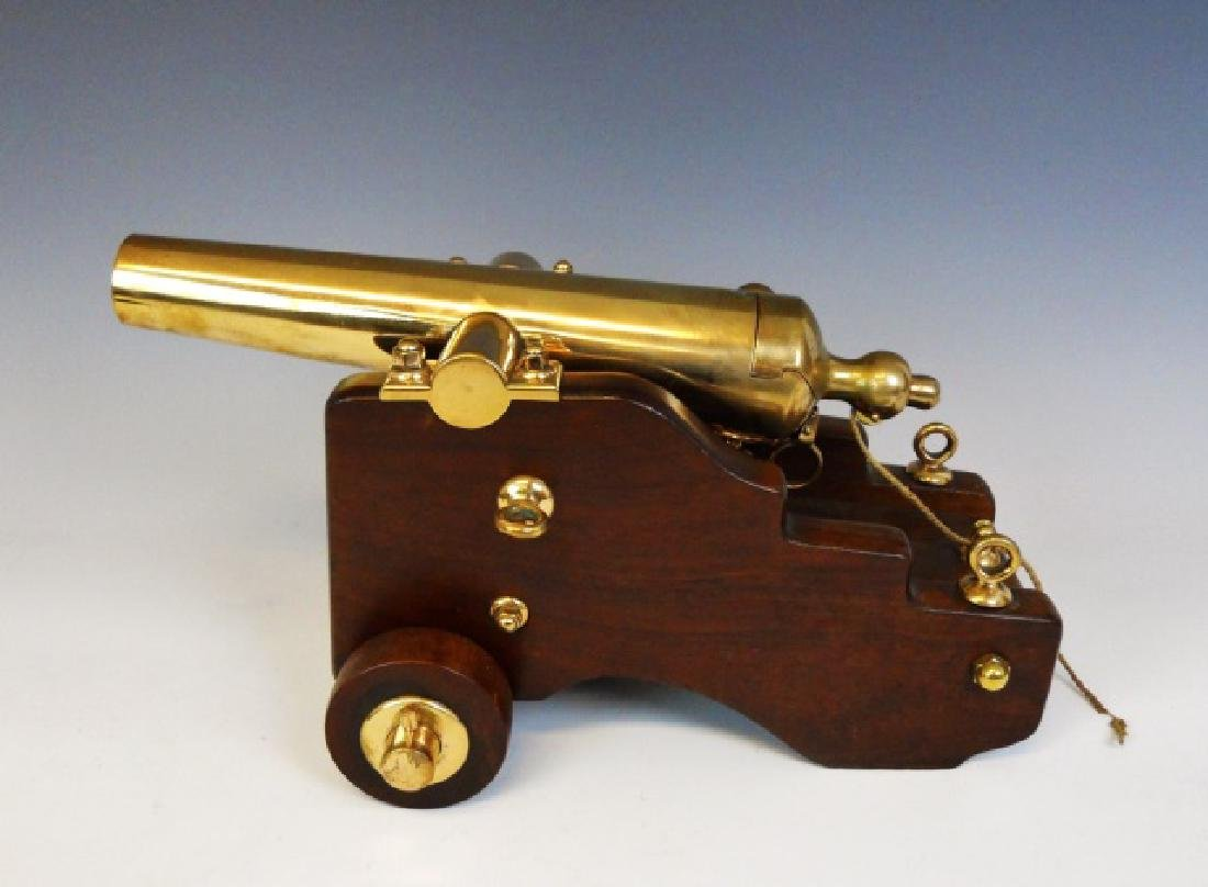 Antique Yacht Signal Cannon, R. H. Brown & Co