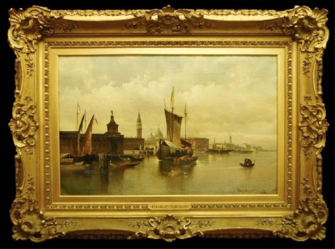 Painting, O/C Karl Kaufmann, (1843-1901) 1886 Date