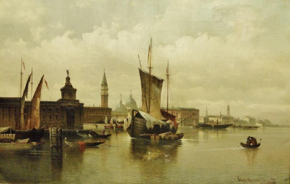 Painting, O/C Karl Kaufmann, (1843-1901) 1886 Date - 2