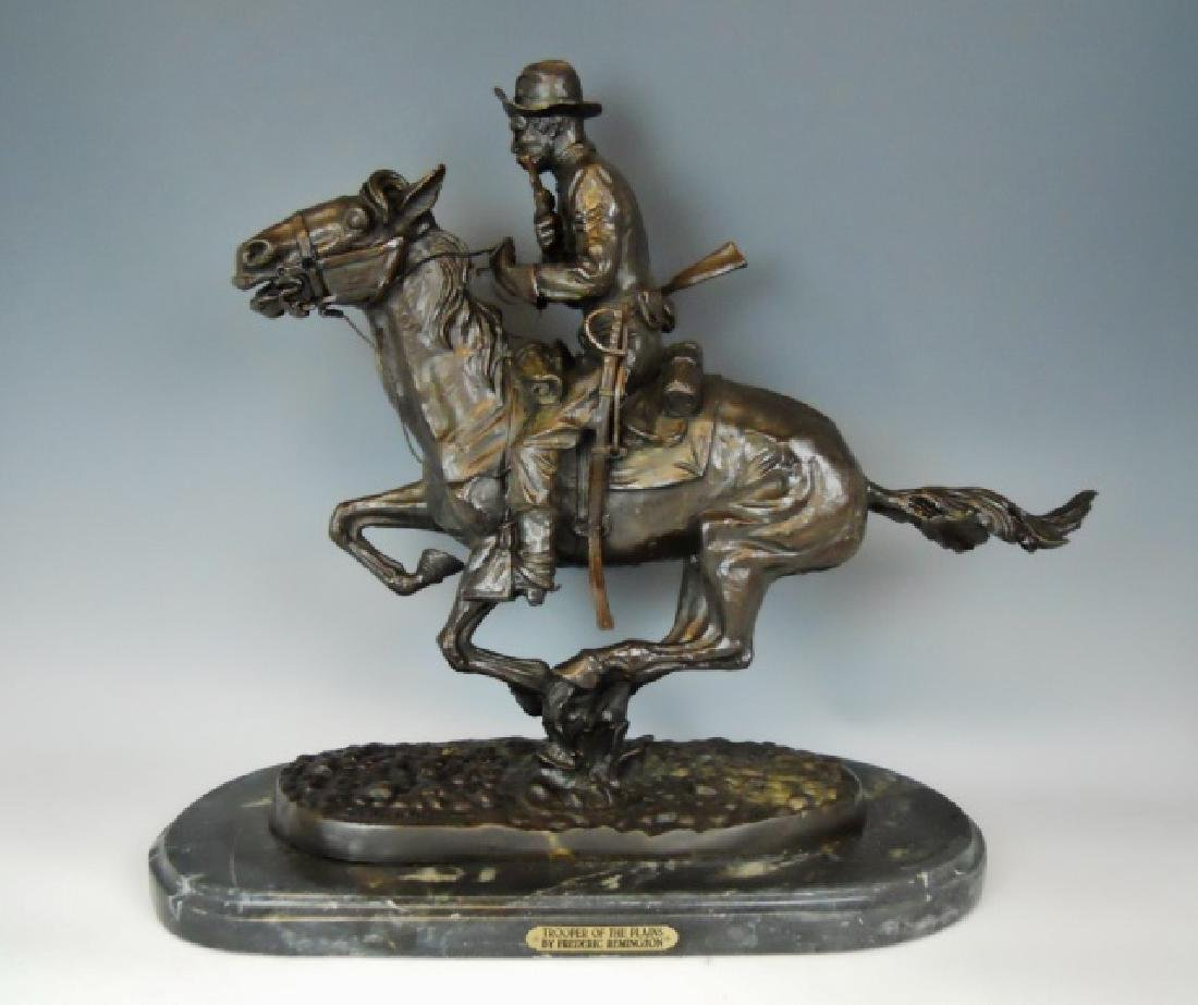 Bronze, Frederick Remington, Trooper of the Plains