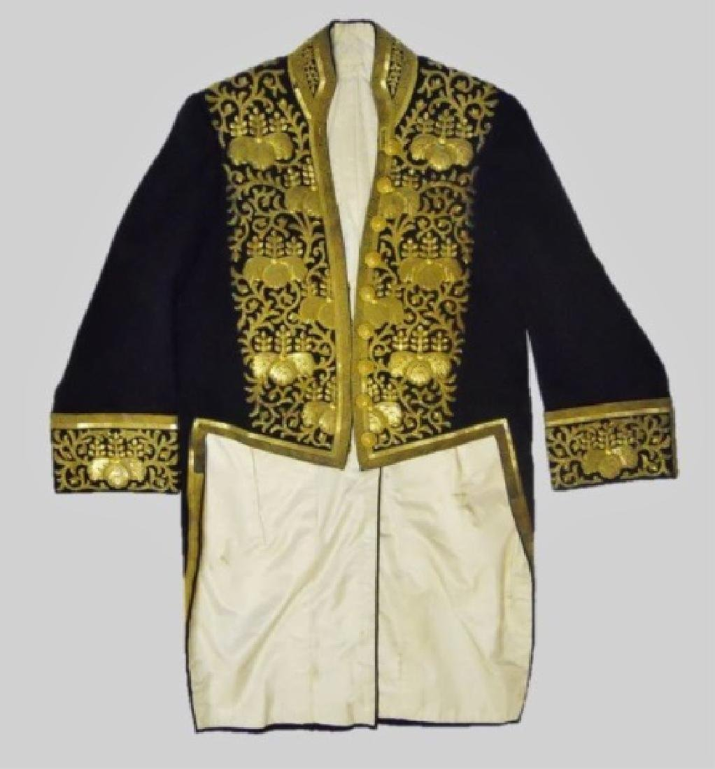 Japanese Meiji Period Formal Court Dress Uniform