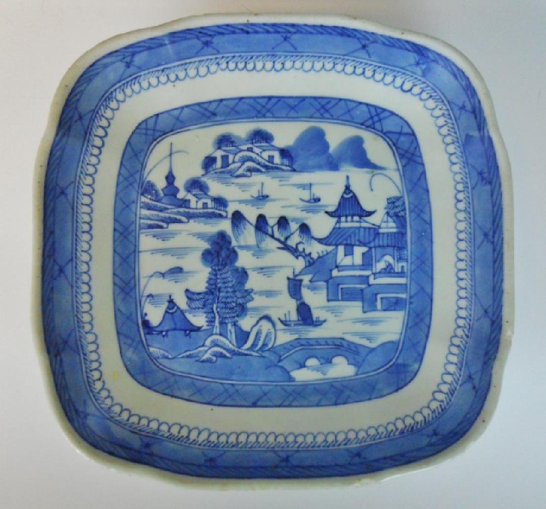 19th C. Chinese Canton Export Blue & White (12pc) - 2