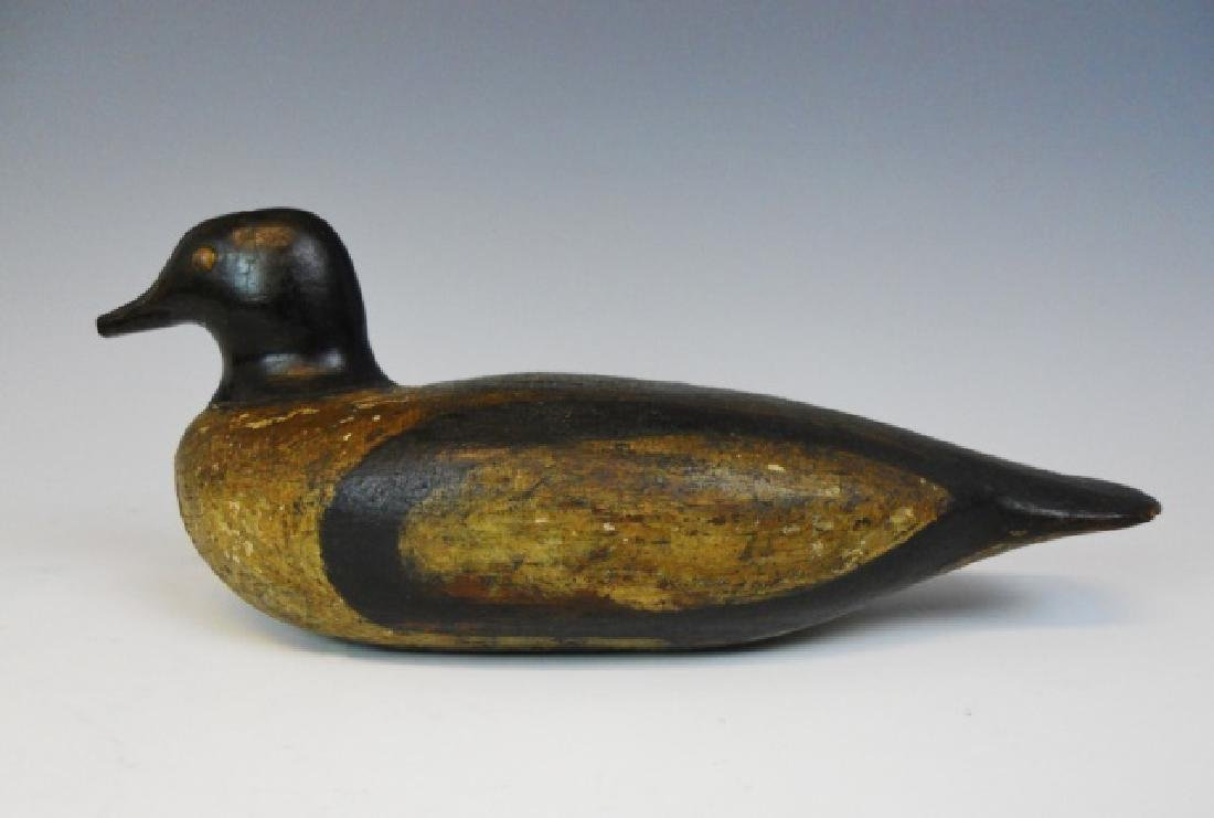 19th C. Primitive Goldeneye Duck Decoy