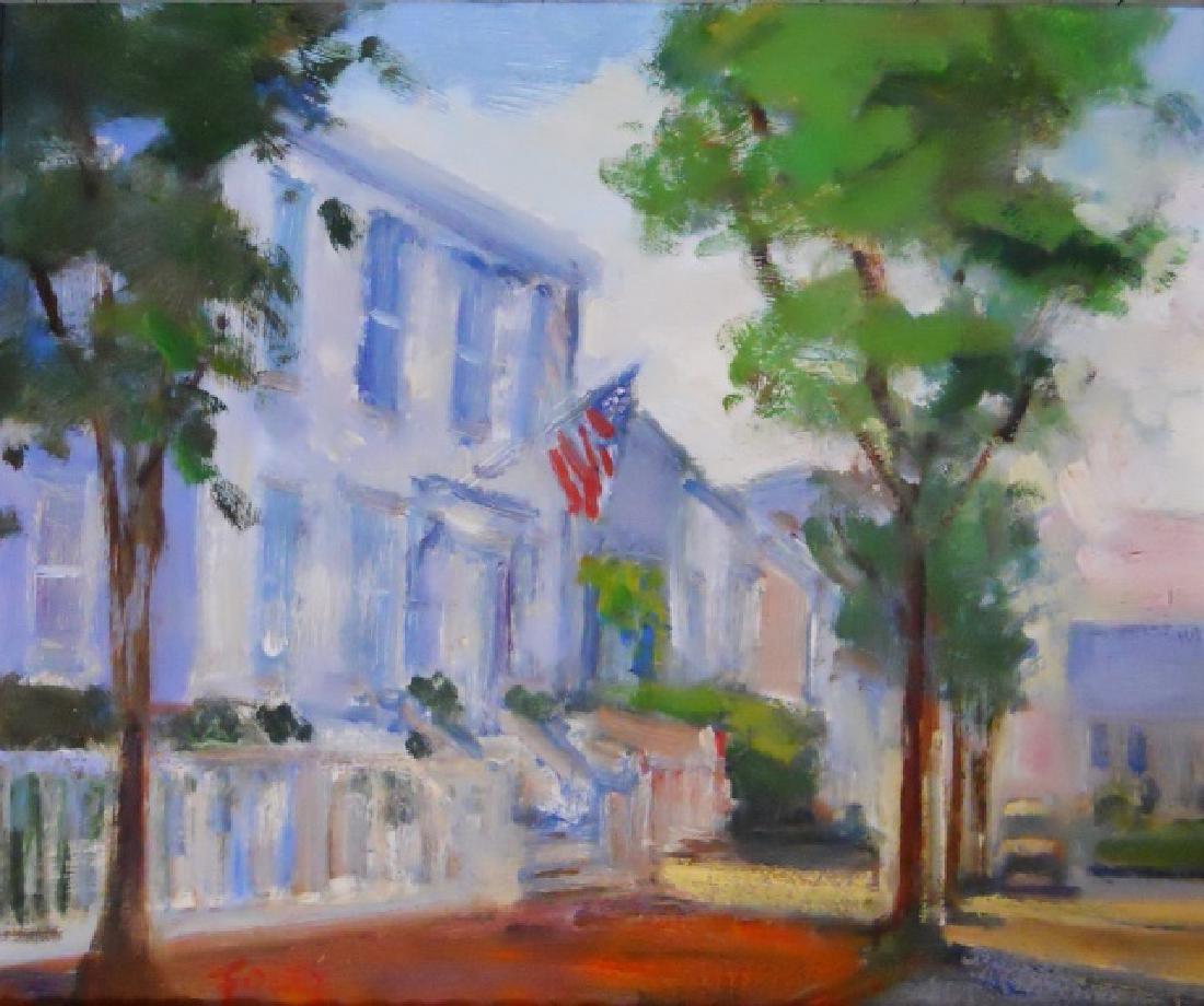 Painting O/C Nantucket, Elle Foley (1957-)