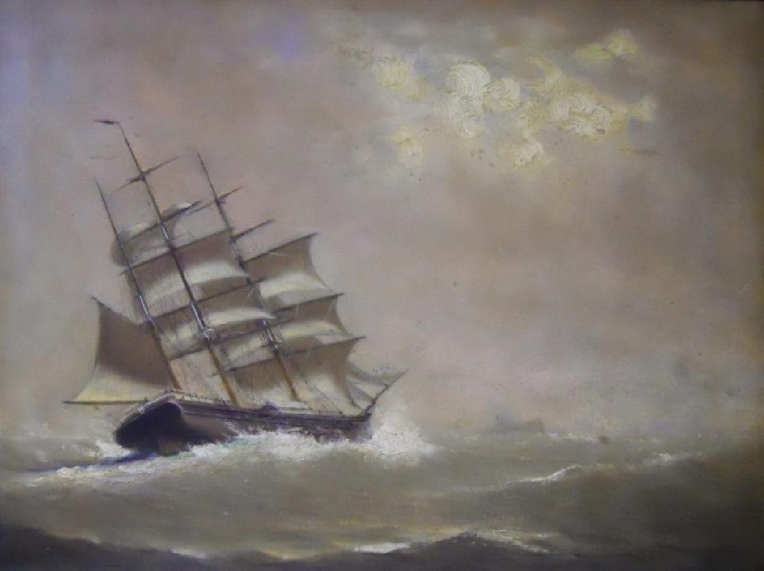 Painting O/C Marshall Johnson (American 1850-1921)