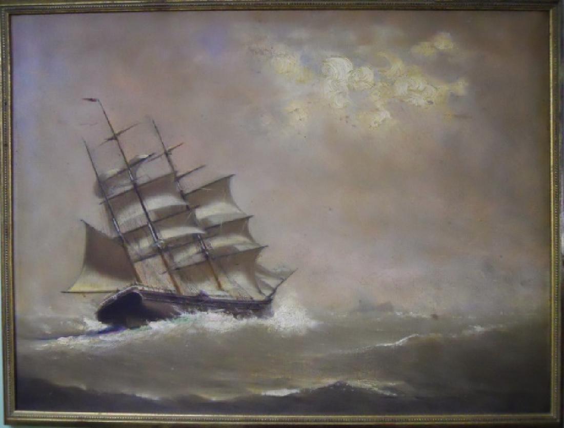 Painting O/C Marshall Johnson (American 1850-1921) - 2