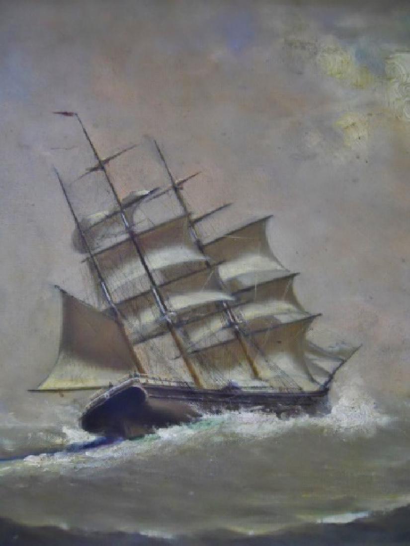 Painting O/C Marshall Johnson (American 1850-1921) - 3