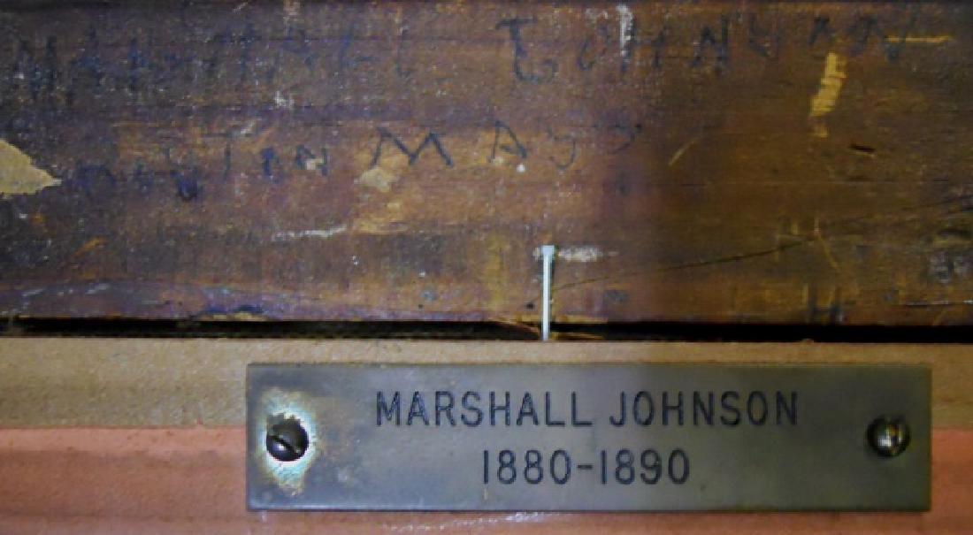 Painting O/C Marshall Johnson (American 1850-1921) - 6