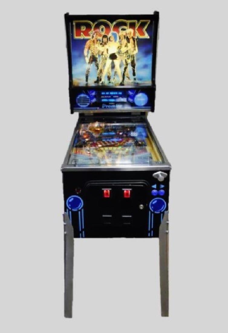1986 Pinball Machine, ROCK, Gottlieb