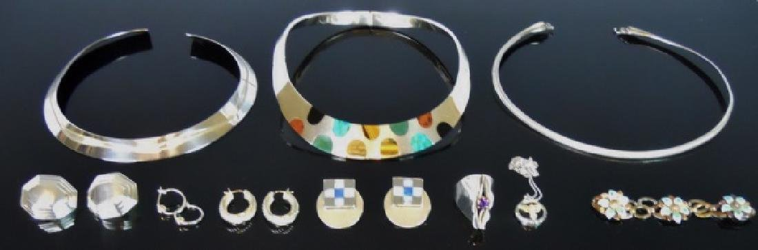 Collection of Sterling Silver Jewelry (10 pc)