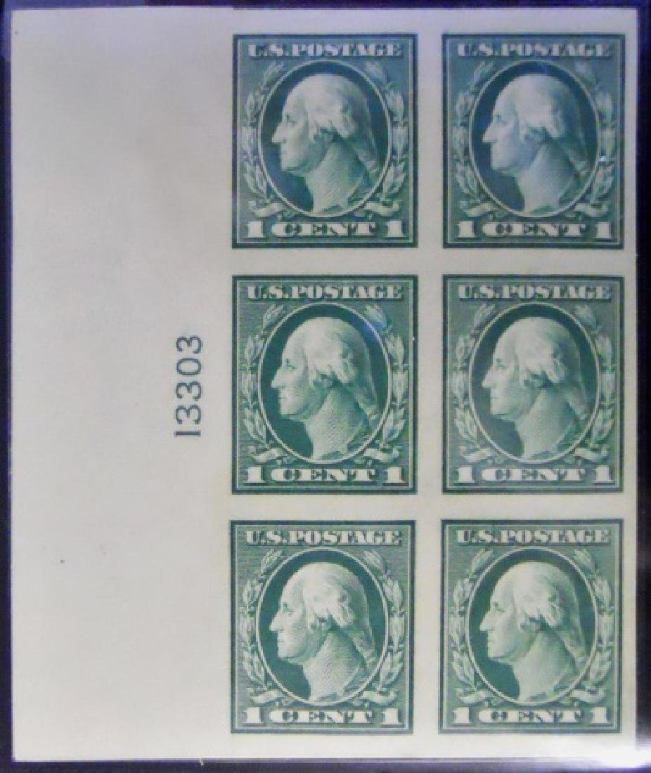 Collection US Stamps Plate Blocks, (7pc) - 2