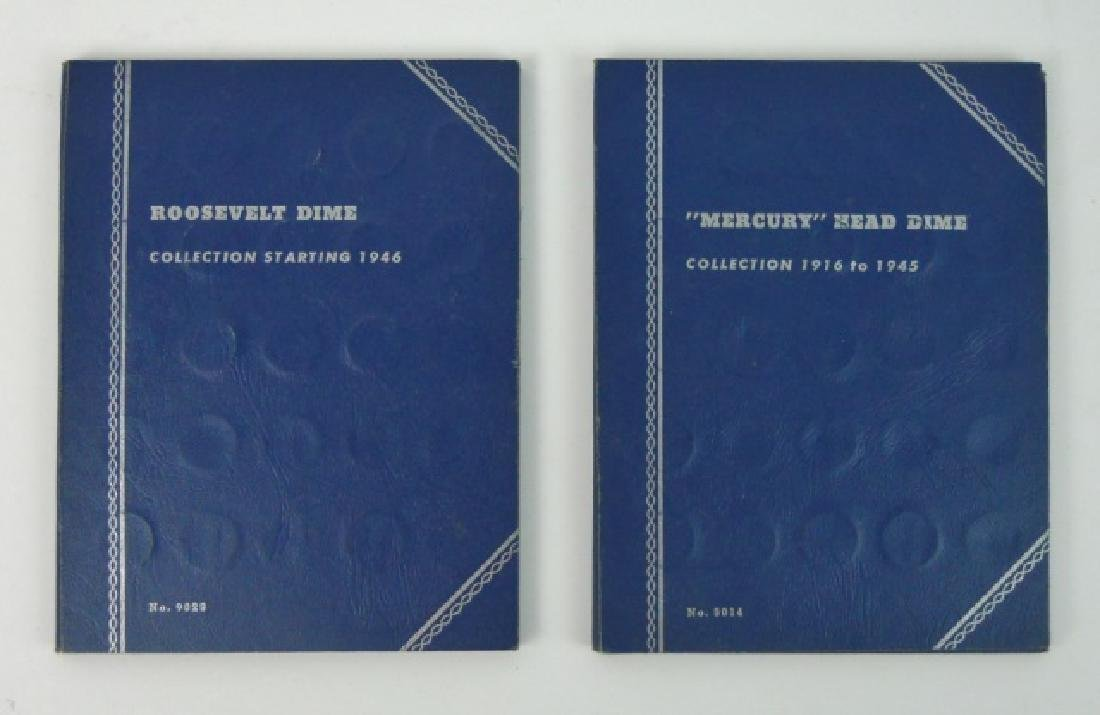 Collection of Mercury and Roosevelt Dimes, (116pc)