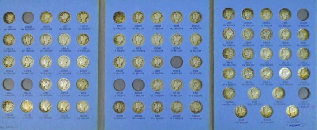 Collection of Mercury and Roosevelt Dimes, (116pc) - 2