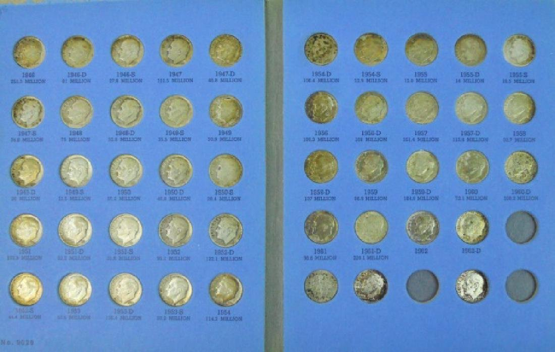 Collection of Mercury and Roosevelt Dimes, (116pc) - 5