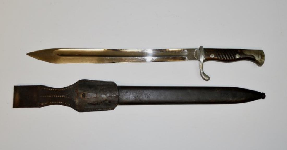 WW1 German M98/05 Butcher Blade Dress Bayonet